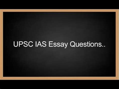 UPSC ESSAY STRATEGY: How to Write an Essay! - IASbaba